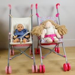 Assise de poussette de poupée