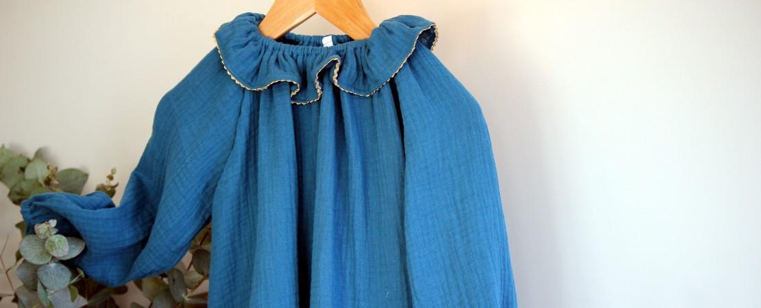Une jolie robe bleue